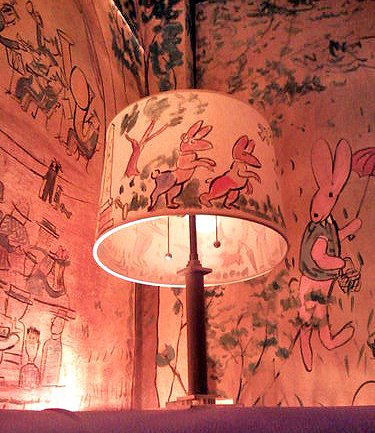 The wreck of the zephyr and madeline rea berg 39 s book blog for Bemelmans bar mural