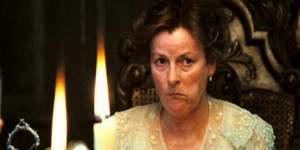 Mrs. Bennett, forever embarrassing her daughters!